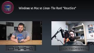 Windows vs Mac vs Linux - The Rant *Reaction*