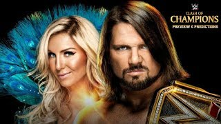 WWE Clash of Champions 2017 PREVIEW & PREDICTIONS :: AJ Styles vs. Jinder Mahal :: Worth Your Time?