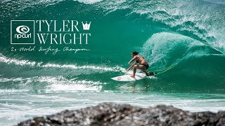 Tyler Wright - 2x WSL Women's World Surfing Champion - 2016, 2017.