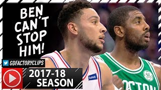 Kyrie Irving vs Ben Simmons PG Duel Highlights (2017.10.06) Celtics vs Sixers - SICK!