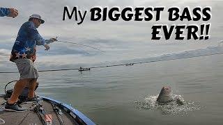 My Biggest Bass Ever!! - I Broke My Record!