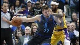Los Angeles Lakers vs Dallas Mavericks NBA Full Highlights (8th January 2019)