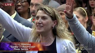 """SUNDAY OF RESURRECTION POWER Service "" WITH PROPHET ED CITRONNELLI 04/21/19"