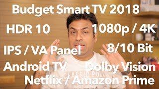 Budget Smart TV's Even Android Tv What You Need to Know (2018 Guide)