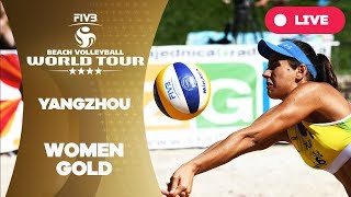 Yangzhou 4-Star - 2018 FIVB Beach Volleyball World Tour - Women Gold Medal Match