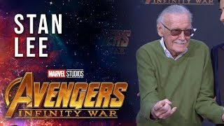 Stan Lee Live at the Avengers: Infinity War Premiere
