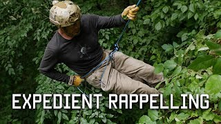 How to Rappel in an Emergency   Expedient Rappelling   Tactical Rifleman
