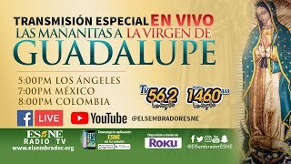 Las Mañanitas a La Virgen de Guadalupe | EN VIVO | ESNE