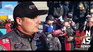 Cole Custer on fight with Tyler Reddick | NASCAR Xfinity Series race at Kansas Speedway