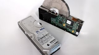 cut in half - HDD