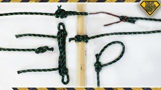 6 Useful Survival Knots