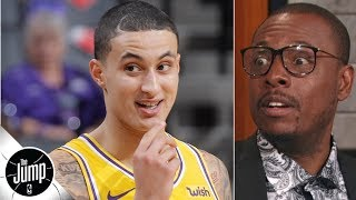 Kyle Kuzma's increased trade value is scary for the Lakers – Paul Pierce | The Jump