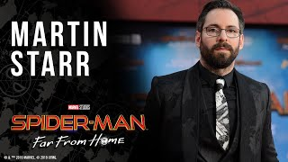 Martin Starr LIVE at the Spider-Man: Far From Home red carpet