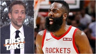 James Harden may go down as one of the greatest chokers - Max Kellerman l First Take