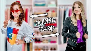 I SWAPPED Clothes With My MOM For A Week...
