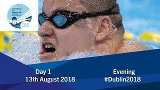 Day 1 Evening | 2018 World Para Swimming Allianz European Championships