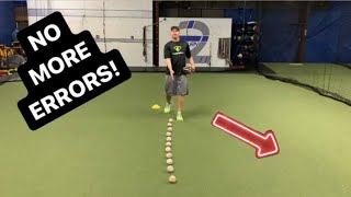 JAB STEP TRICK for Better Ground Ball Reads = Higher Fielding Percentage