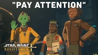 Pay Attention - ″Dangerous Business″ Preview | Star Wars Resistance
