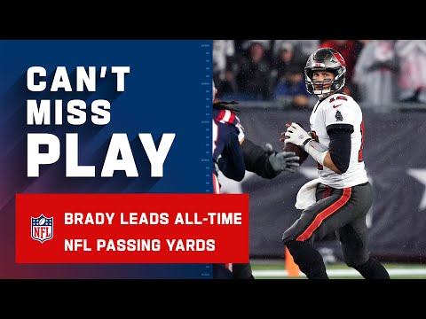 Tom Brady NFL All-Time Passing Yards Leader