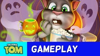 Halloween Magic in My Talking Tom (New Update)