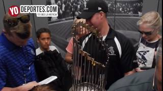 2005 World Series White Sox Trophie