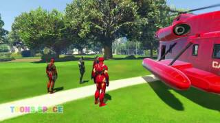 Spiderman Fun Color Motorbikes For Children's | Color Learning For Kids With Nursery Rhymes