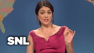 Weekend Update: Girl You Wish You Hadn't Started a Conversation With on Christmas - SNL