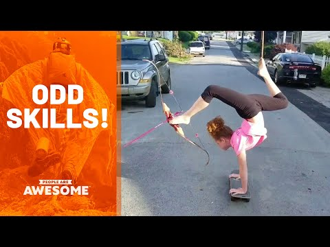 Weird Skills & Odd Talents | People Are Awesome