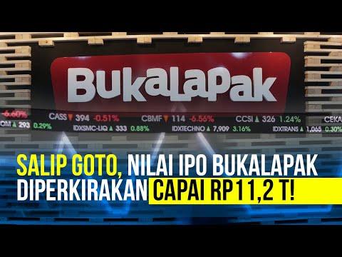 Nyalip Goto, Nilai IPO Bukalapak Capai Rp11,2 Triliun?