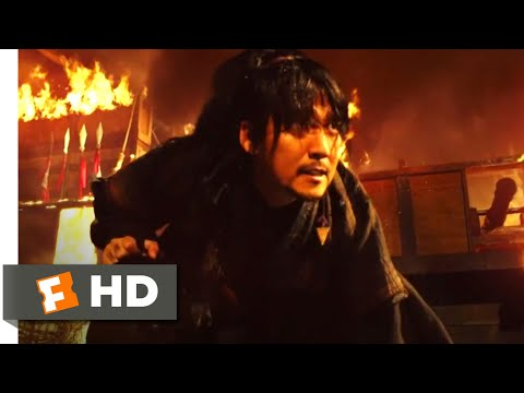 The Pirates (2014) - Battle of the Burning Boat Scene (6/10) | Movieclips