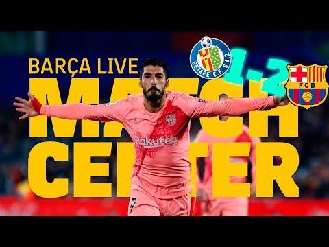 [LIVE] Warm Up  & Matchcenter | #GetafeBarça
