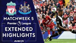 Liverpool v. Newcastle United   PREMIER LEAGUE HIGHLIGHTS   9/14/19   NBC Sports