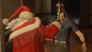Killing as many people as possible while dressed as Santa Claus in Hitman