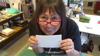 How To Make A Fabric Postcard