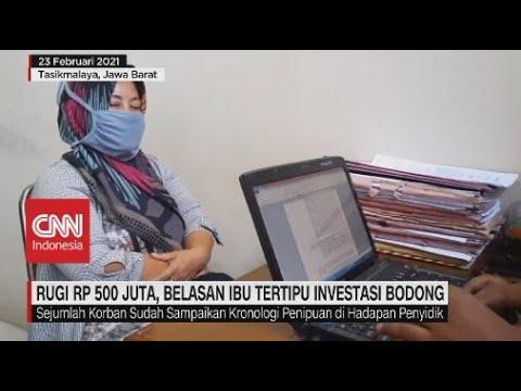 Rugi Rp.500 Juta, Belasan Ibu Tertipu Investasi Bdong
