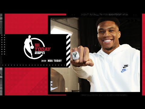 My 5 title rings aren't as big as the Bucks' championship rings! – Magic Johnson | NBA Today