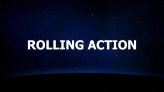 Rolling action game