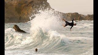 MONSTER BACK WASH WAVES