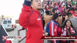 Sector Latino la porra del Chicago Fire en español