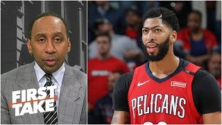 Anthony Davis is key to LeBron's NBA title hopes with Lakers - Stephen A. | First Take
