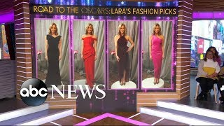 Help Lara Spencer get ready for the Oscars l GMA