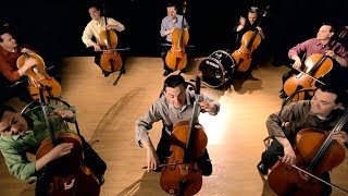 The Cello Song - (Bach is back with 7 more cellos) - The Piano Guys
