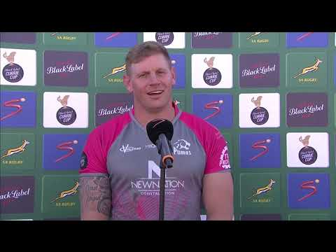 Currie Cup | Round 14 | Tafel Lager Griquas v New Nation Pumas | Interview with Shane Kirkwood