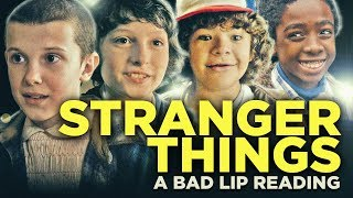″STRANGER THINGS: A Bad Lip Reading″