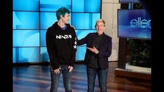 Extended Cut: Ellen and Tyler 'Ninja' Blevins Play 'Fortnite'