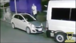 Carjacking Victim Retaliates Against Carjacker   Active Self Protection