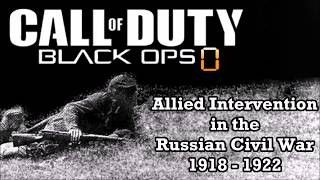 Game Idea - Call of Duty Black Ops 0 ( Russian Civil War )