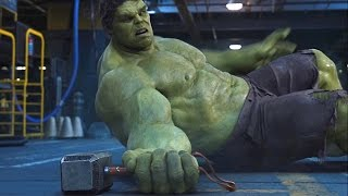Thor vs Hulk - Fight Scene - The Avengers (2012) Movie Clip HD