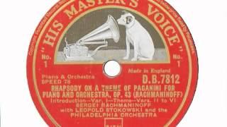 YSL 078-059 Rachmaninov Vol 2