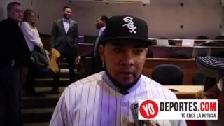 Melky Cabrera feliz de estar en los White Sox